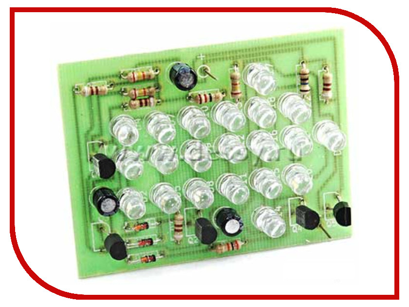 Игрушка Конструктор Радио КИТ RL120 Green - светодиодная стрелка<br>