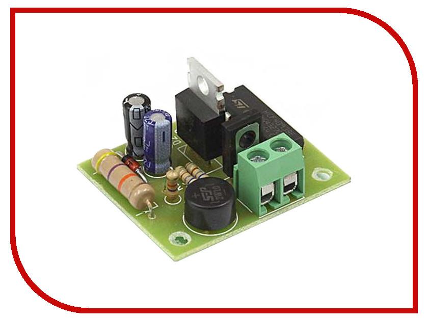 Конструктор Конструктор Радио КИТ RL244 - блок выключения света с временной задержкой конструктор блок гальванической развязки для программатора avr isp радио кит rc230