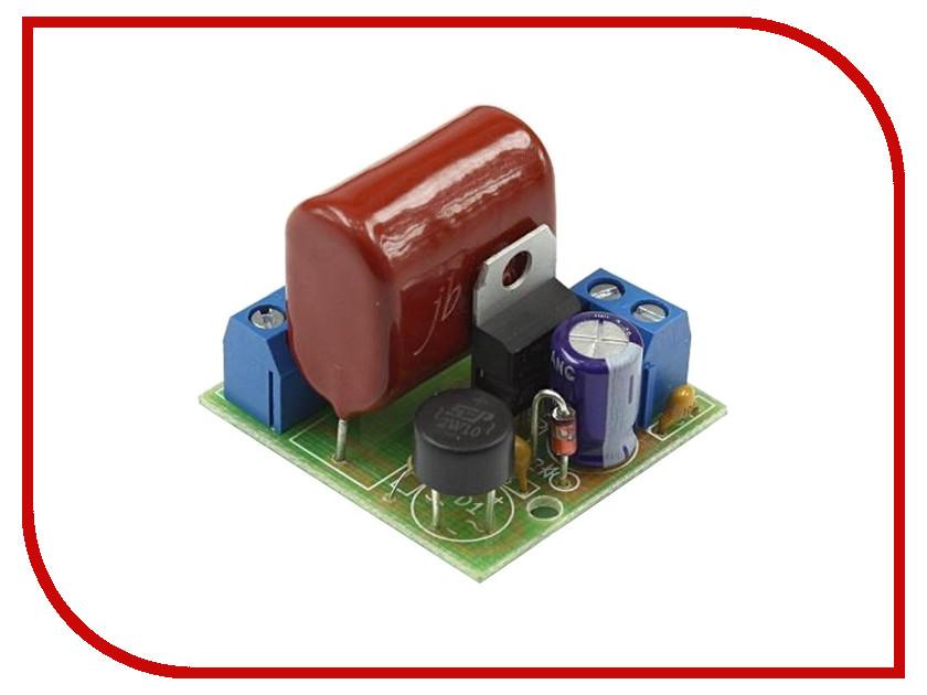 Игрушка Конструктор Радио КИТ RP257 - бестрансформаторный стабилизатор напряжения