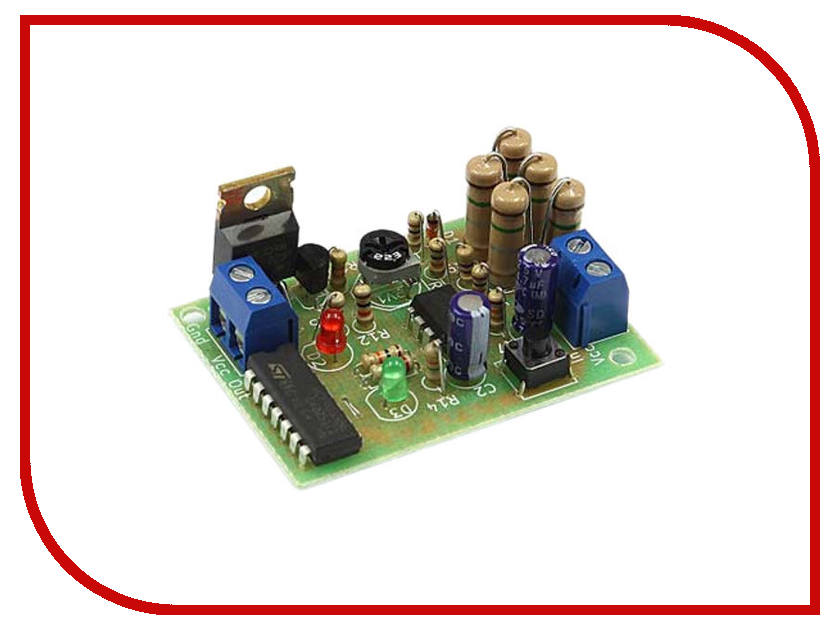 Конструктор Электронный предохранитель Радио КИТ RP282 игрушка радио кит rl138 светодиодный уровень сигнала