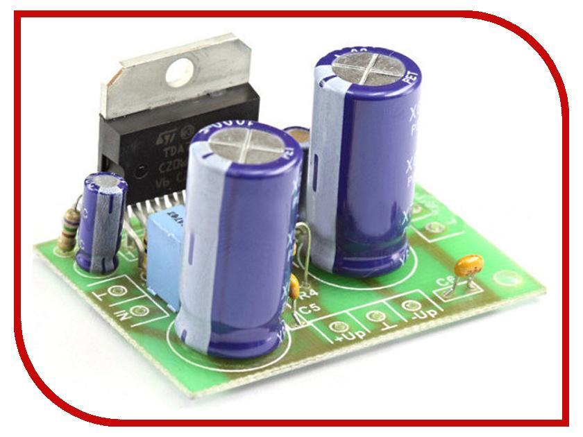 Игрушка Конструктор Радио КИТ RS207 - одноканальный УНЧ 100/140 Вт на TDA7294/TDA7293<br>