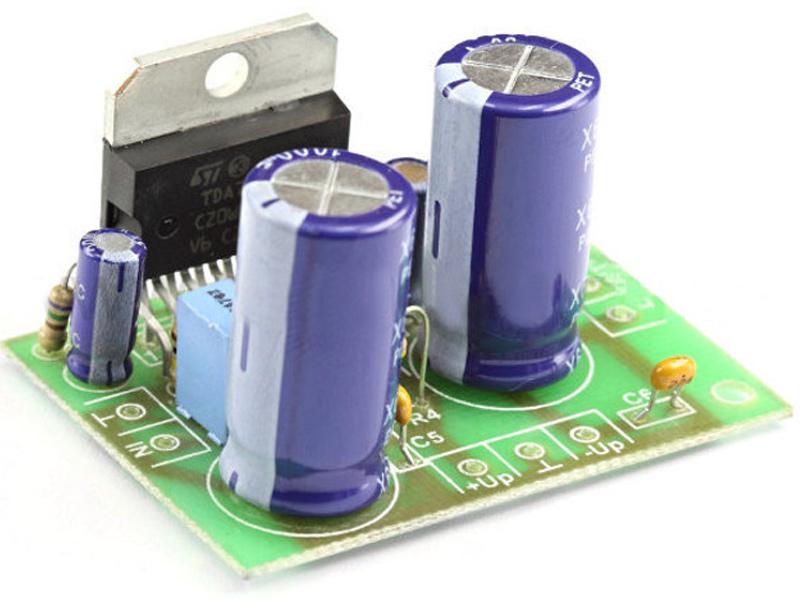 Конструктор Радио КИТ УНЧ RS207 одноканальный 100/140 Вт на TDA7294/TDA7293