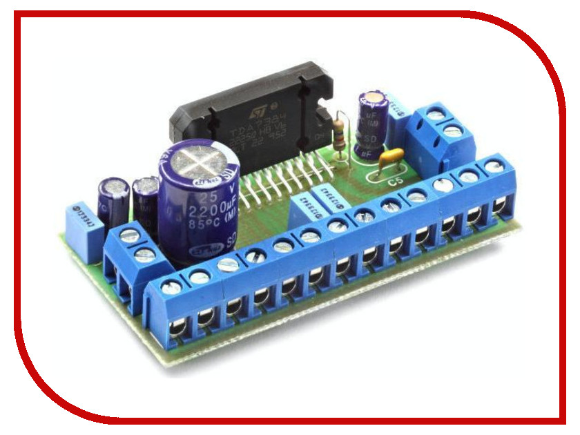 Игрушка Конструктор Радио КИТ RS215 - четырёхканальный УНЧ 4х45 Вт<br>