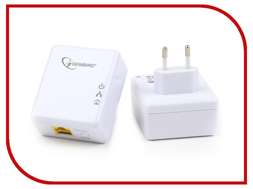 Powerline адаптер Gembird NIC-HP-004<br>
