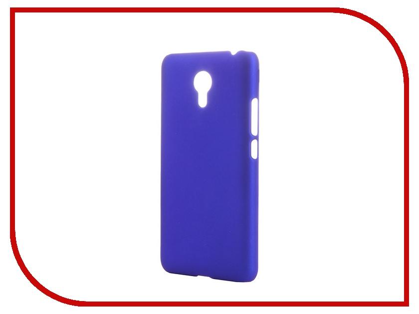 Аксессуар Чехол-накладка Meizu M2 Note SkinBox 4People Blue T-S-MM2N-002 + защитная пленка<br>