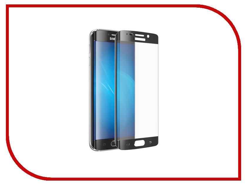 Аксессуар Закаленное стекло Samsung G920F Galaxy S6 Edge+ DF sColor-02 Black<br>