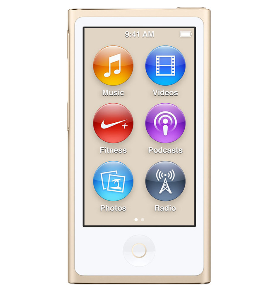 Плеер APPLE iPod Nano - 16Gb Gold MKMX2RU/A<br>