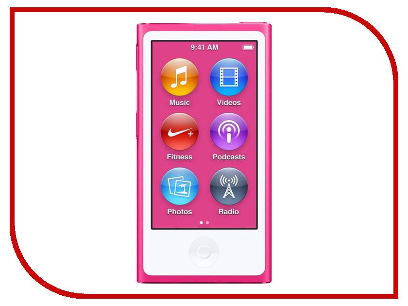 Плеер APPLE iPod Nano - 16Gb Pink MKMV2RU/A<br>
