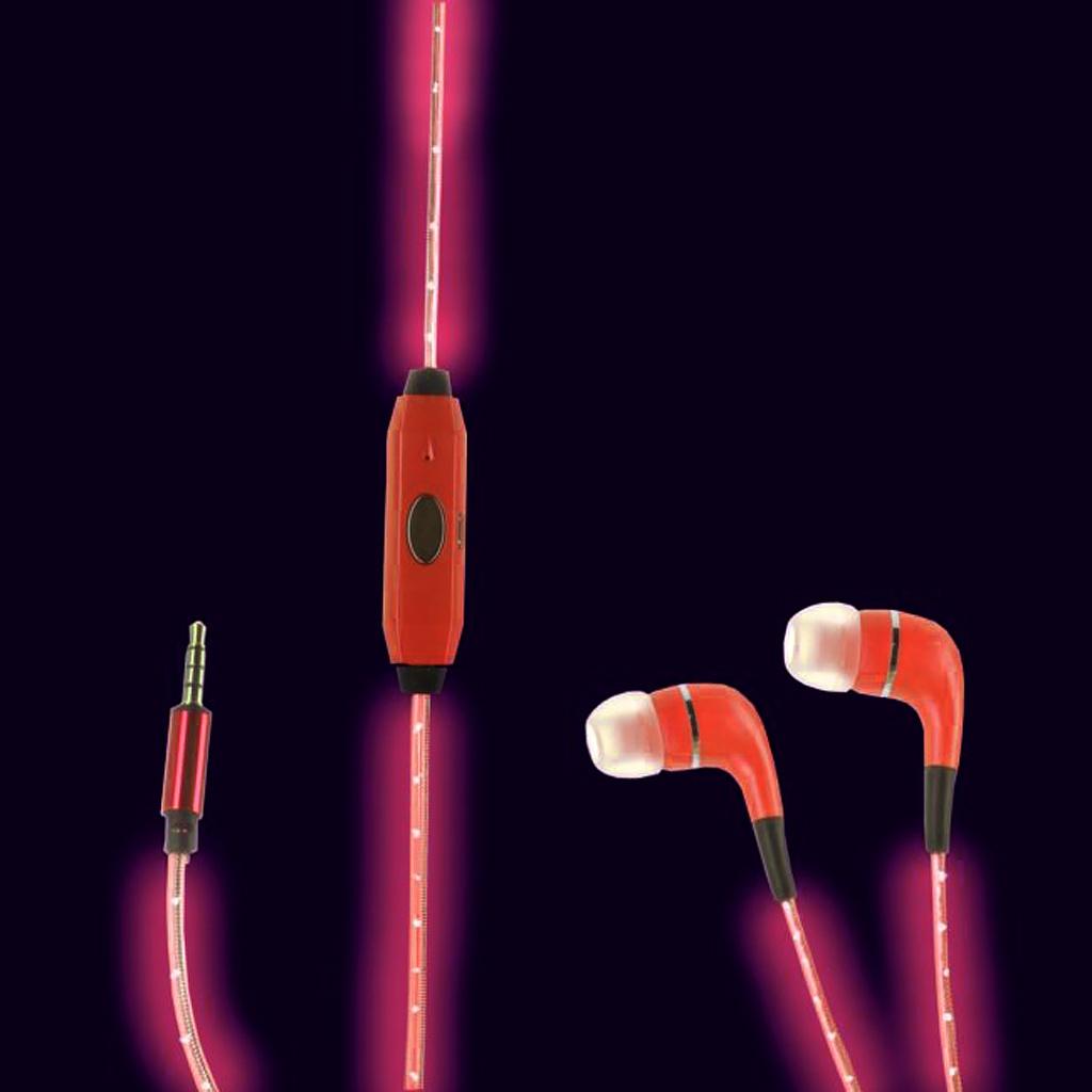 Megamind Светящиеся наушники LED Red<br>