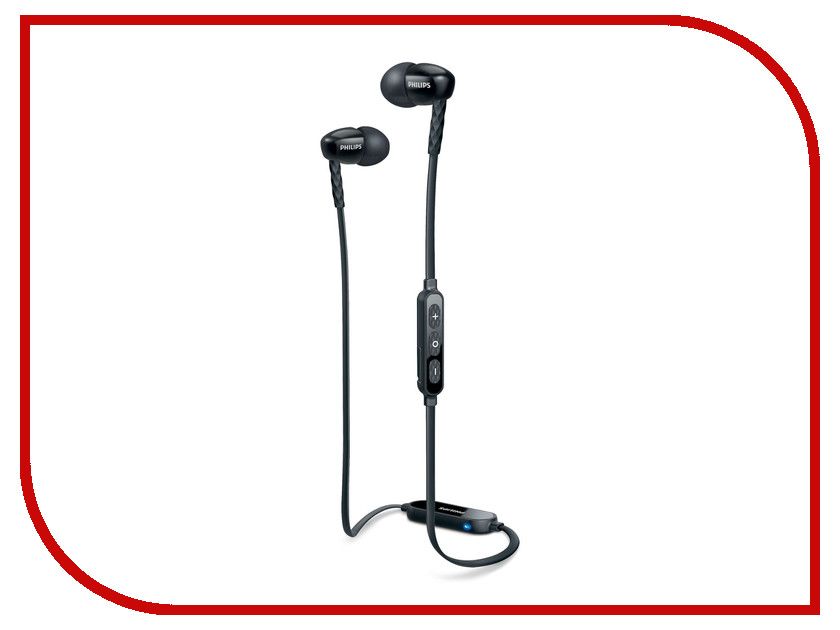 Гарнитура Philips SHB5850 Black<br>