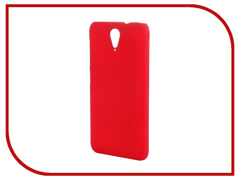 Аксессуар Чехол-накладка HTC Desire 620 Nillkin Frosted Shield Red<br>