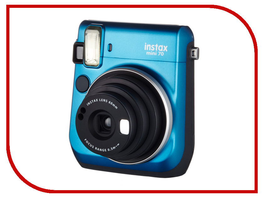 Фотоаппарат Fujifilm 70 Instax Mini Blue brand new fujifilm instax camera mini 90s black instant mini film camera free shipping