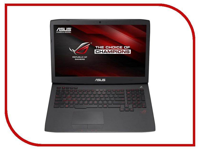 Ноутбук ASUS ROG G-Sync G751JY-T7397T 90NB06F1-M07070 (Intel Core i7-4750HQ 2.0 GHz/24576Mb/2000Gb + 256Gb SSD/BD-RW/nVidia GeForce GTX 980M 4096Mb/Wi-Fi/Cam/17.3/1920x1080/Windows 10 64-bit)<br>