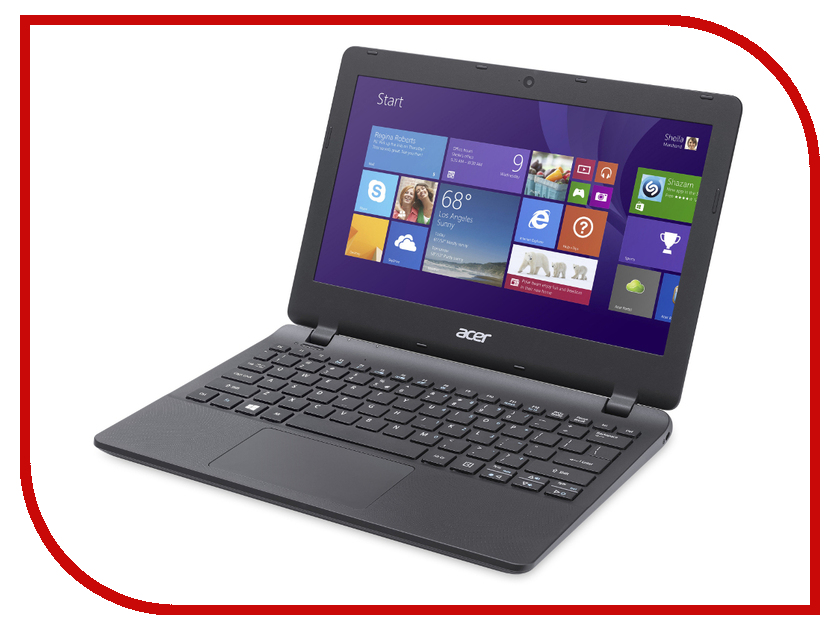 Ноутбук Acer Aspire ES1-131-C1NL Black NX.MYGER.004 Intel Celeron N3050 1.6 GHz/2048Mb/32Gb SSD/No ODD/Intel HD Graphics/Wi-Fi/Bluetooth/Cam/11.6/1366x768/Windows 10<br>