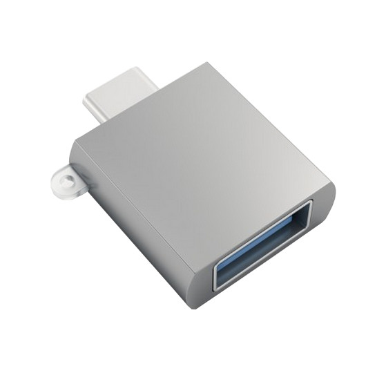 Аксессуар Satechi USB 3.0 Type-C to Type-A Space Gray ST-TCUAM