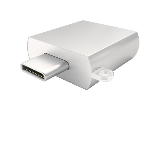 Аксессуар Satechi USB 3.0 Type-C to Type-A Silver B015YRRYDY/st-tcuas