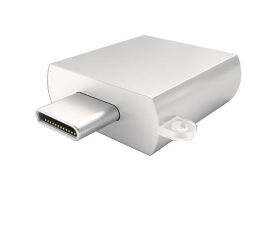 Аксессуар Satechi USB 3.0 Type-C to USB 3.0 Type-A Silver B015YRRYDY/st-tcuas аксессуар satechi usb 3 0 type c to usb 3 0 type a space gray st tcuam