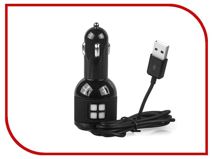 Зарядное устройство Qumo Auto Energy 3A 2xUSB 1A+2A Black A2U3AB 20731