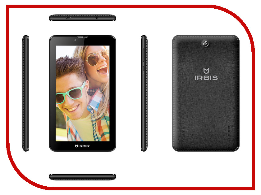 Планшет Irbis TZ70 MediaTek MT8735M 1.0 GHz/512Mb/8Gb/Wi-Fi/3G/Bluetooth/GPS/Cam/7.0/1024x600/Android