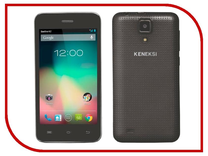 Сотовый телефон KENEKSI Effect Black<br>