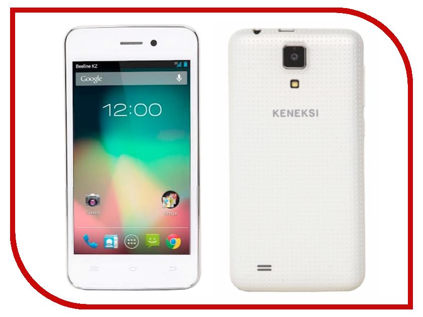Сотовый телефон KENEKSI Effect White<br>