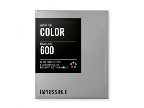 Аксессуар Impossible Color Instant Film for Polaroid PX600 Silver Frame 8 фото