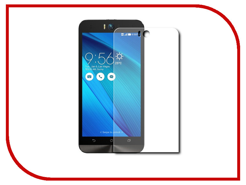 все цены на Аксессуар Защитное стекло ASUS ZenFone Selfie 5.5 ZD551Kl CaseGuru 0.33mm онлайн