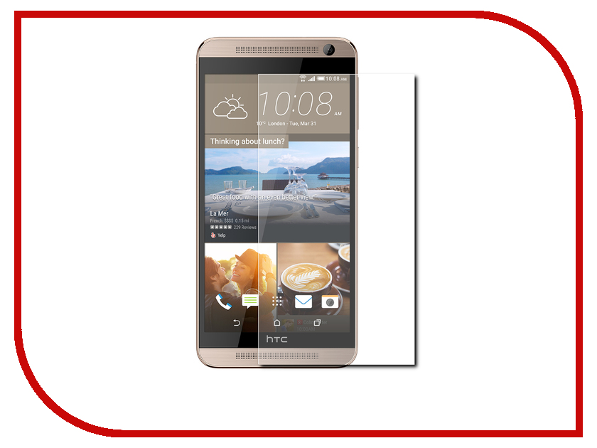 все цены на Аксессуар Защитное стекло HTC One M9 CaseGuru 0.33mm онлайн