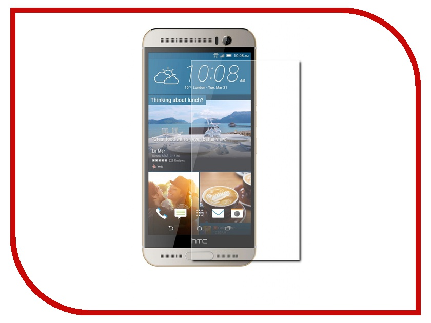 купить Аксессуар Защитное стекло HTC One M9 Plus CaseGuru 0.33mm онлайн