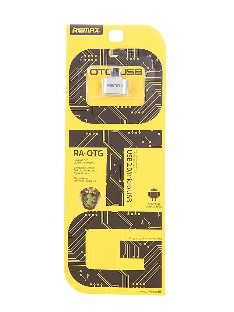 Аксессуар Remax Micro USB - USB Silver RM-000197