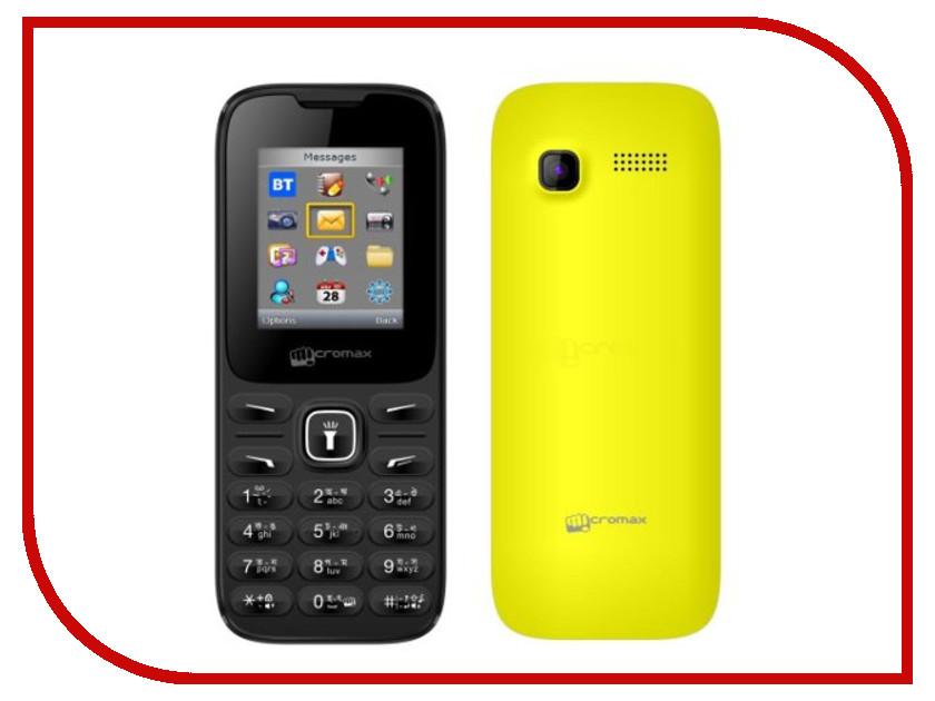 Сотовый телефон Micromax X401 Yellow