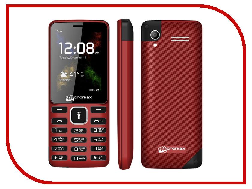 Сотовый телефон Micromax X700 Red<br>