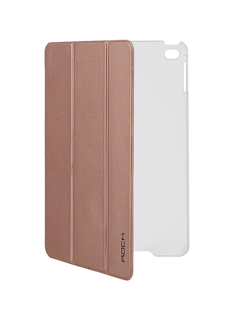 Аксессуар Чехол ROCK Touch Series для APPLE iPad mini 4 Rose Gold<br>