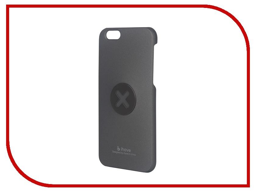 Аксессуар Чехол-накладка iHave X-series II Magnetic для iPhone 6 / 6S Grey<br>