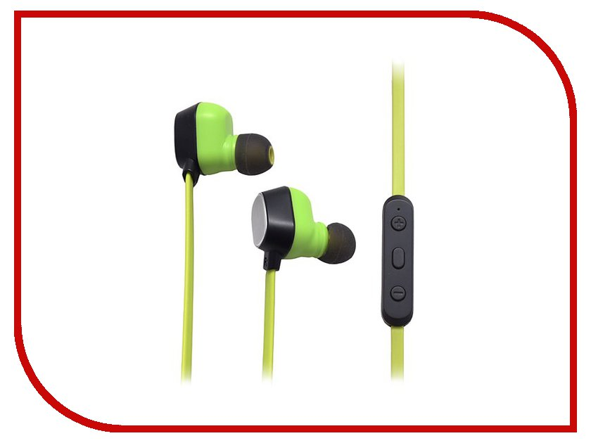 Гарнитура ROCK Mumo Bluetooth Earphone RAU0503 Black-Green<br>
