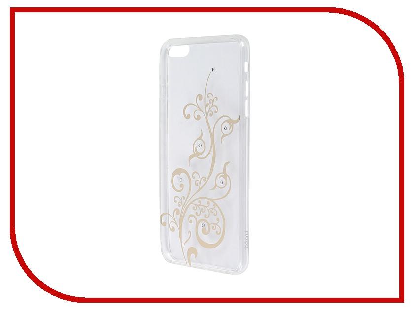 Аксессуар Чехол-накладка Hoco Super Star Series Shinning для APPLE iPhone 6 / 6S Plus Diamond Soarin