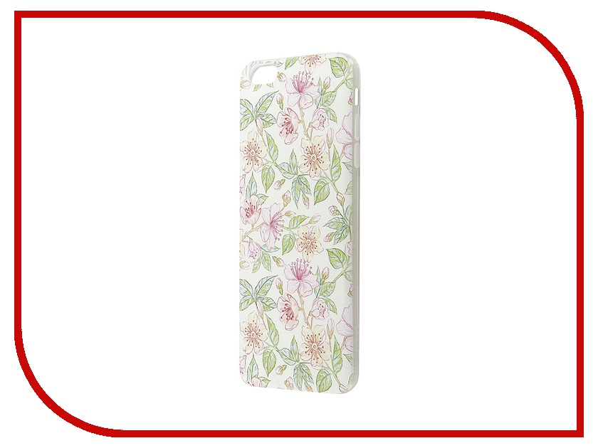 Аксессуар Чехол-накладка Hoco Super Star Series Painted для APPLE iPhone 6 /6S Plus Morning Glory<br>