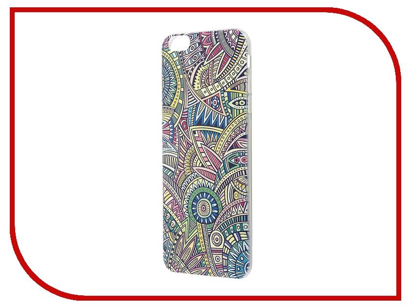 Аксессуар Чехол-накладка Hoco Super Star Series Painted для iPhone 6 Plus / 6S Plus Bohemian<br>