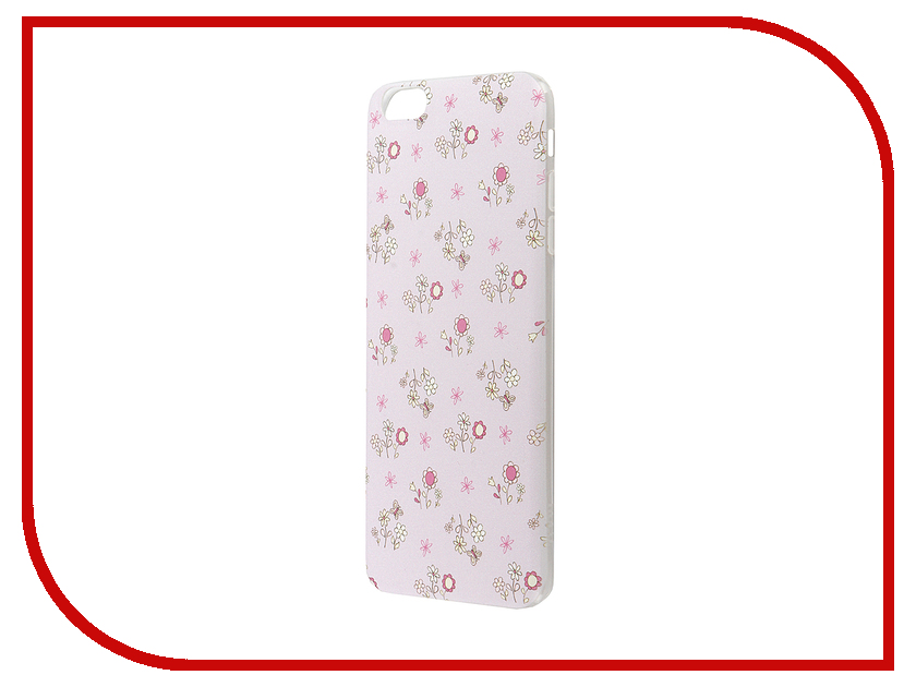Аксессуар Чехол-накладка Hoco Super Star Series Painted для APPLE iPhone 6 / 6S Plus Daisy<br>