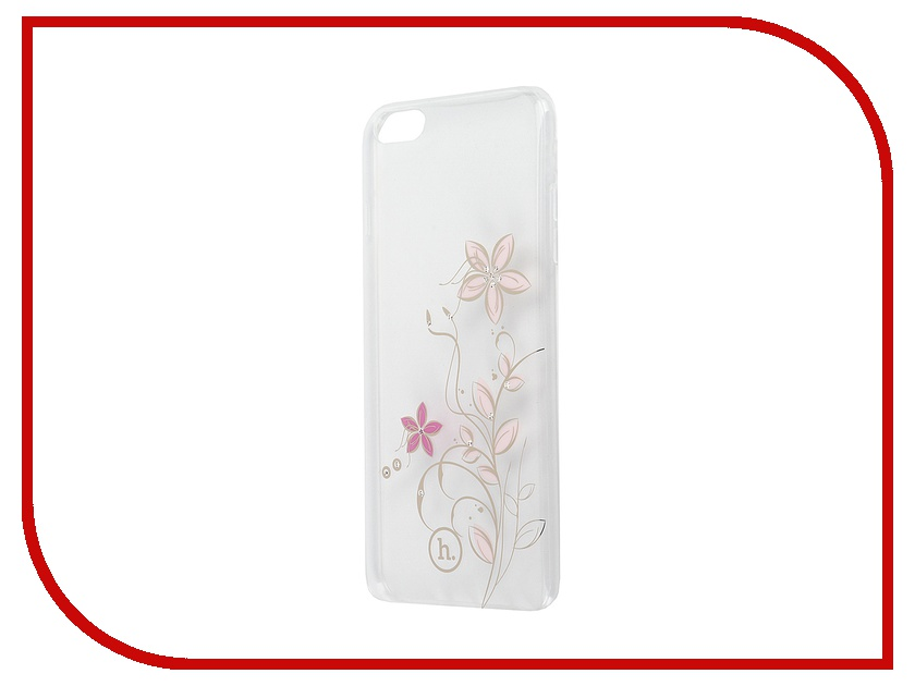 Аксессуар Чехол-накладка Hoco Super Star Series Inner для APPLE iPhone 6 / 6S Plus Diamond Flourish<br>