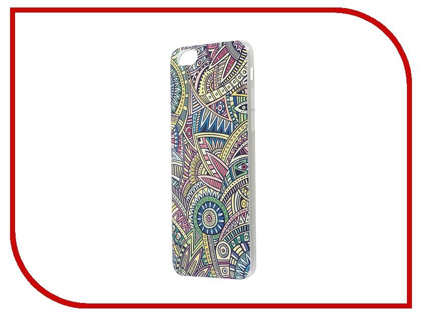 ��������� �����-�������� Hoco Super Star Series Painted ��� APPLE iPhone 6 / 6S Bohemian