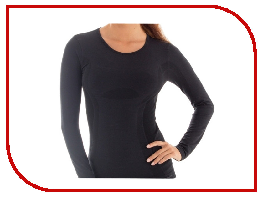цена  Рубашка Brubeck Comfort Wool M Black LS12150 женская  онлайн в 2017 году