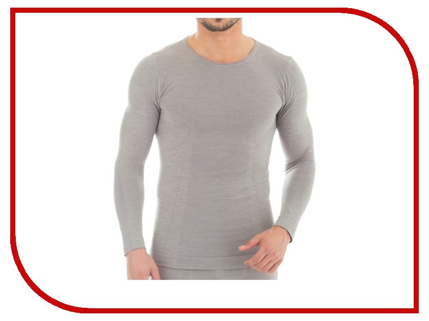 цена  Рубашка Brubeck Comfort Wool L Grey LS12160 мужская  онлайн в 2017 году