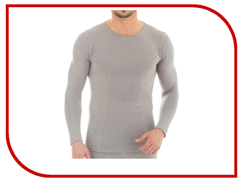 цена  Рубашка Brubeck Comfort Wool S Grey LS12160 мужская  онлайн в 2017 году