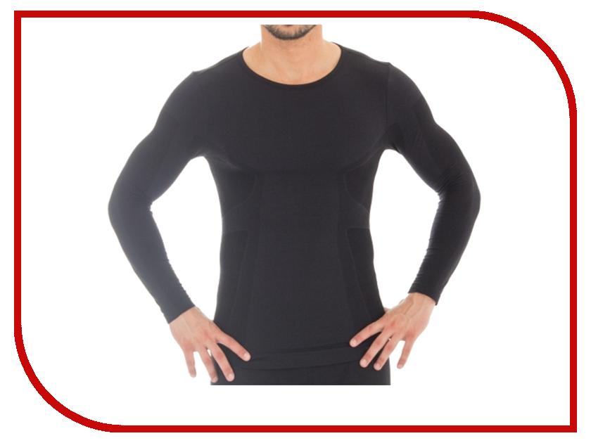 Рубашка Brubeck Comfort Wool L Black LS12160 мужская