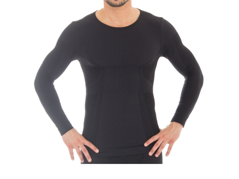Рубашка Brubeck Comfort Wool S Black LS12160 мужская<br>