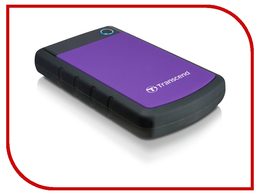 внешние HDD/SSD TS3TSJ25H3P  Жесткий диск Transcend 3Tb TS3TSJ25H3P