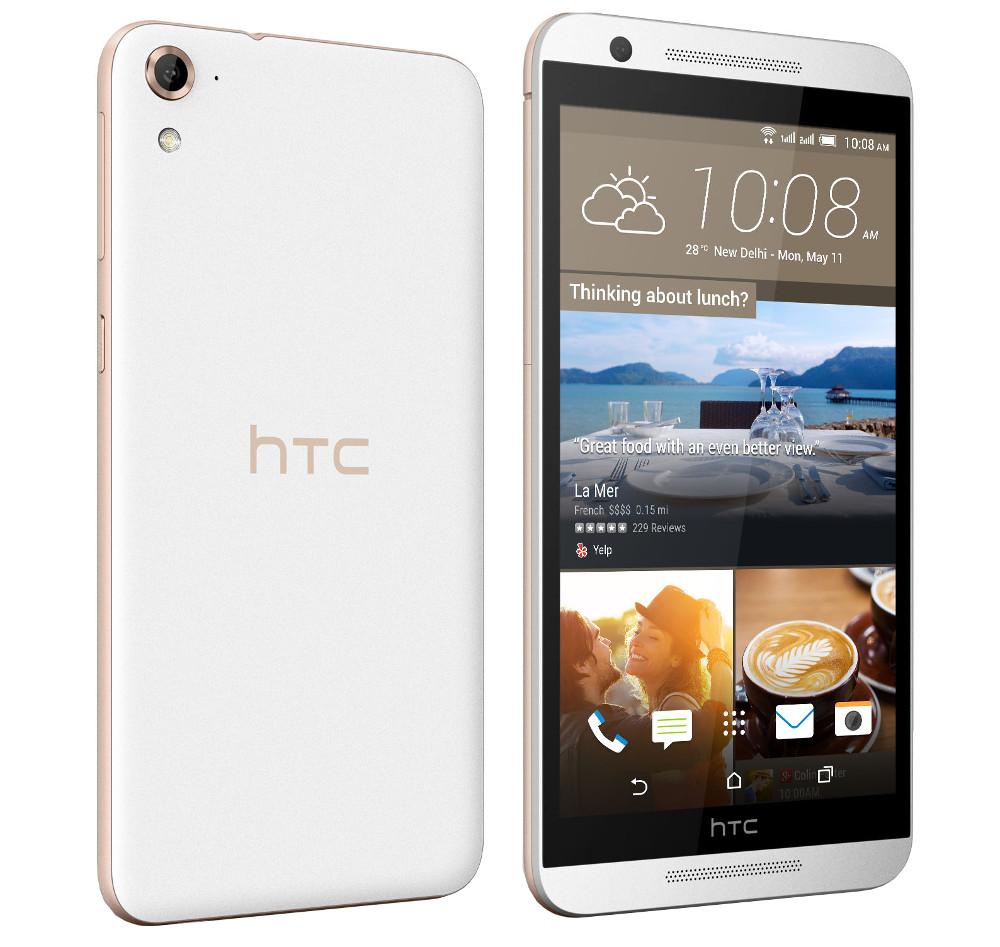 Сотовый телефон HTC One E9s Dual Sim White Luxury