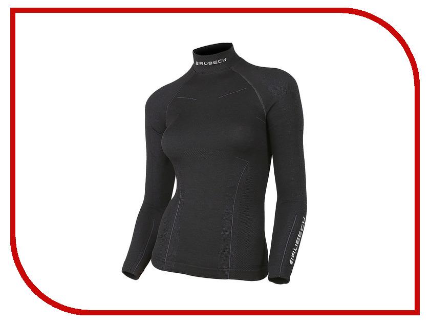 цена Рубашка Brubeck Wool Merino S Black LS10500 / LS11930 онлайн в 2017 году