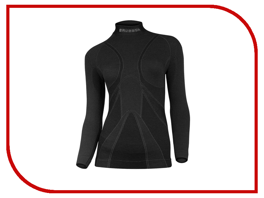футболка brubeck wool merino xxl black ls10510 мужская Рубашка Brubeck Wool Merino L Black LS10500 / LS11930